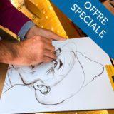 Découvrez notre offre Close Up : silhouette + caricature dans la même soirée ! Un donne occasion pour exploiter la notion de portrait sous tous ses angles