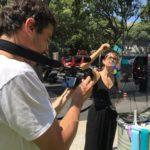 tournage d'un film d'anthropologie visuelle pour l'artiste aNa par MYARTBOX