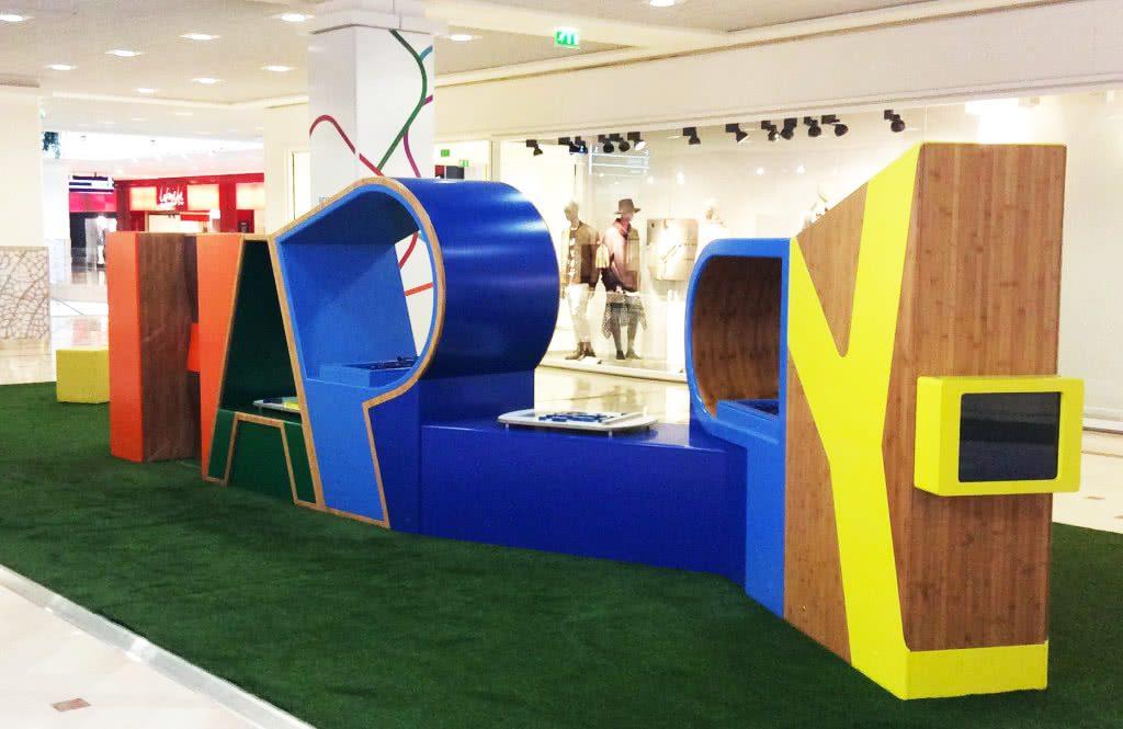 exemple de jeu d'enfants design réalisé par KIDEA concept
