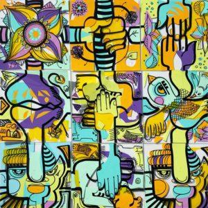 outil de management fresque animation happiness management télétravail my art box
